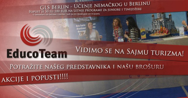 Naši programi i na Sajmu turizma u Beogradu