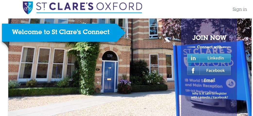 St Clares Oxford Connect